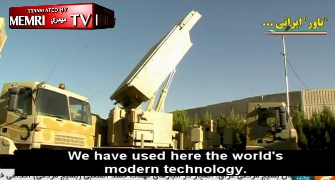 Irán presenta su sistema de defensa aérea de largo alcance