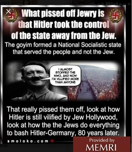 Incitación contra los judíos por parte de miembros
