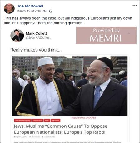 Neo-Nazis Active In BDS Facebook Groups   MEMRI