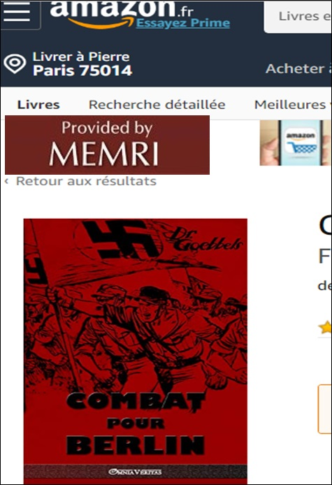 Combat pour Berlin de Goebbels.