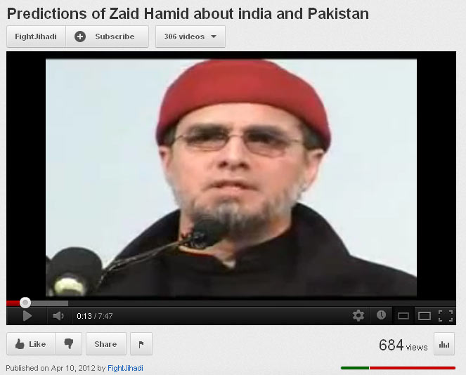 Pakistani Security Analyst Zaid Hamid: '[After