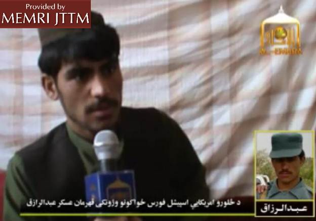 Interviewed By Taliban Website, Defecting Afghan Soldier Describes August 10 Attack Killing Three U.S. Troops In Sangin District: 'I Was Motivated By My Faith, Islam'