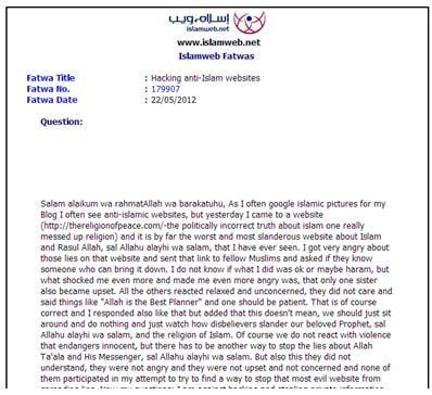En dating fatwa