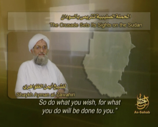 New Al-Zawahiri Tape: The ICC Warrant against Al-Bashir Is a Plot to Destroy Islam in Sudan