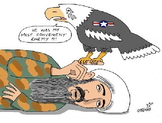 Bin Laden's Death Depicted in Cartoons