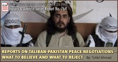 Reports on Taliban-Pakistan Peace Negotiations – What to Believe and What to Reject