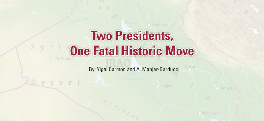Two Presidents, One Fatal Historic Move