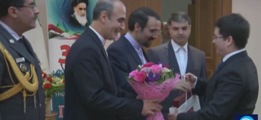 Ceremony Held In Russia To Mark The Anniversary Of The Iranian Revolution