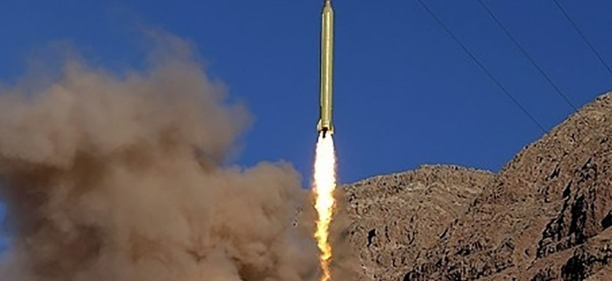 Iran Launches Long-Range Missiles Emblazoned With Slogan: 'Israel Should Be Wiped Off The Face Of The Earth'