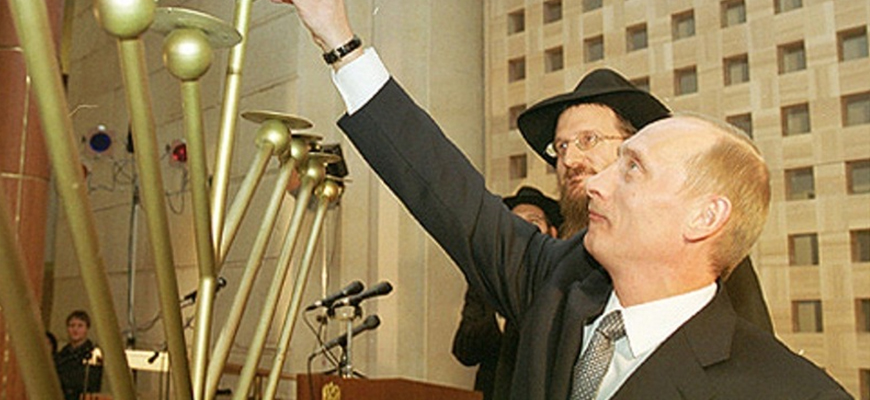 Russian Liberal News Site: The Kremlin Sees Russian-Speaking Jews As 'A Political Asset'