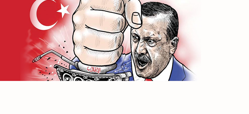 The Turkish Coup Attempt In Arab, Iranian Cartoons
