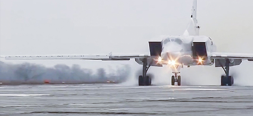 Russian Strategic Bombers Deployed To Iran; Russian Senator Says Nuclear Weapons, Heavy Bombers Will Not Be Permanently Deployed In Syria