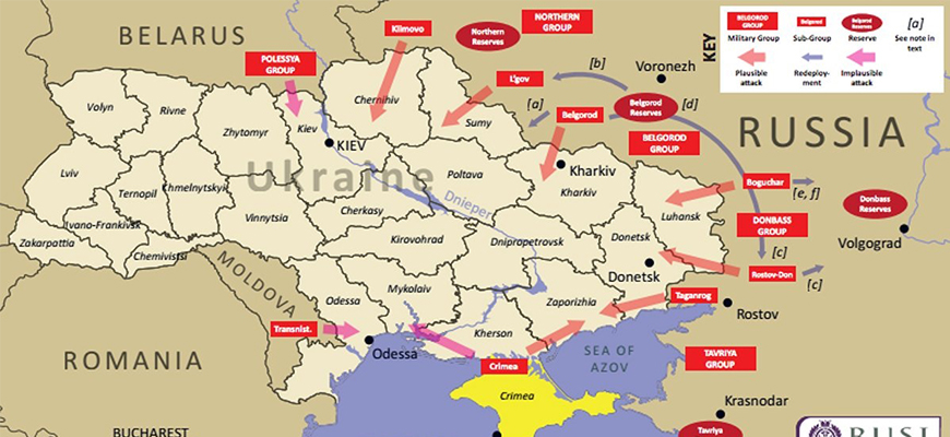 Russian Military Expert: 'Russia Is Creating Three Strong Army Groups On The Border With Ukraine... Capable... Of Launching A Quick Strike In The Direction Of Kiev'
