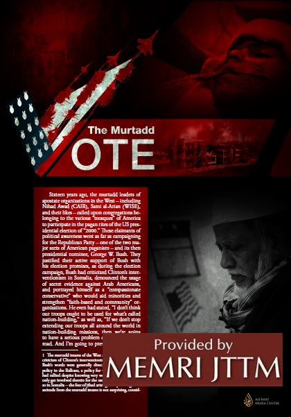 ISIS Article Denounces U.S. Presidential Election, Says American Muslims Who Vote Are Apostates, And Calls For Killing Muslim, Christian, And Women Voters