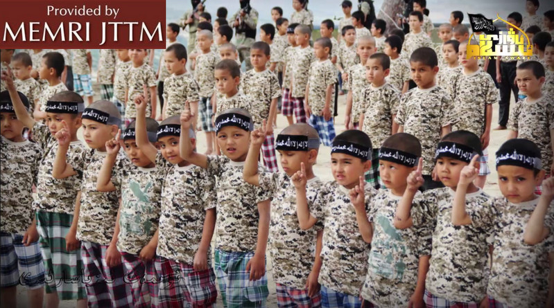 TIP Publishes Photos Of Uyghur Fighters, Including Children Bearing Arms, In Syria