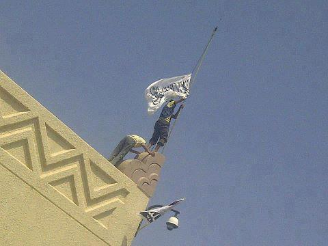 Yemeni Mob Storms U.S. Embassy, Replaces U.S. Flag With Islamist Flag,