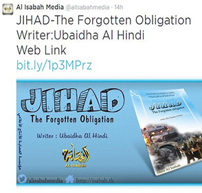 India-Centric Jihadist Media Company Releases Book On Jihad, Quotes Prophet Muhammad: 'The Best Jihad Is That The Legs Of Your Horse Be Cut Off And Your Blood Be Spilt""