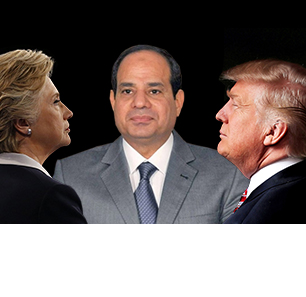 On Eve Of U.S. Election: Egyptian Regime Favors Trump, Opposition Favors Clinton