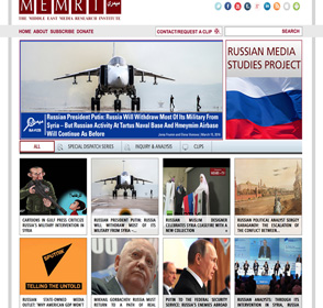 The MEMRI Russian Media Studies Project – Subscribe Now