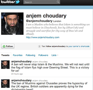 British Islamist Sheikh Anjem Choudary Convicted Of Supporting ISIS; YouTube, Twitter Refuse To Remove His Accounts - As MEMRI Has Been Calling For Since 2011