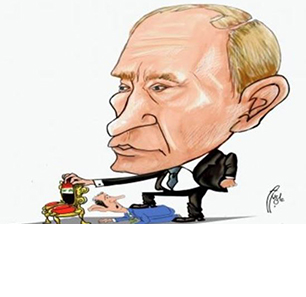 Cartoons In Gulf Press, Oppositionist Syrian Websites Criticize Russian Military Involvement In Syria