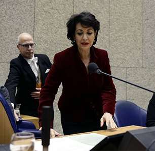 Arab Writers Following Election Of Muslim Woman As Speaker Of Netherlands House Of Representatives: She Proves That West Can Accommodate The Other; We Should Learn From Western Democracies, Israel To Do The Same