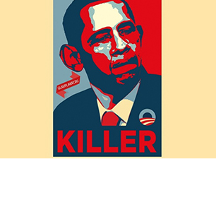 Posters Calling Obama 'A Killer' Seen On Moscow Streets