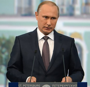 Russian President Putin At SPIEF Plenary Session: The 'Greater Eurasia' Project Is Open To Europe - Part I