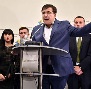 After Resigning, Saakashvili Promises: 'We Will Win When We Get Rid Of Ukrainian Political Elite - Scum And Profiteers Who Are Absolutely Identical To The Russian Ruling Class'