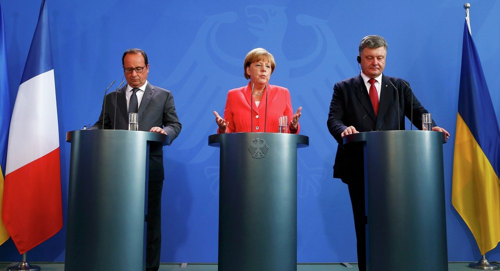 'Moskovskij Komsomolets' Columnist: 'How The Chancellor Of Germany Became A Hostage Of The Minsk Process And What Is In Store For Her'