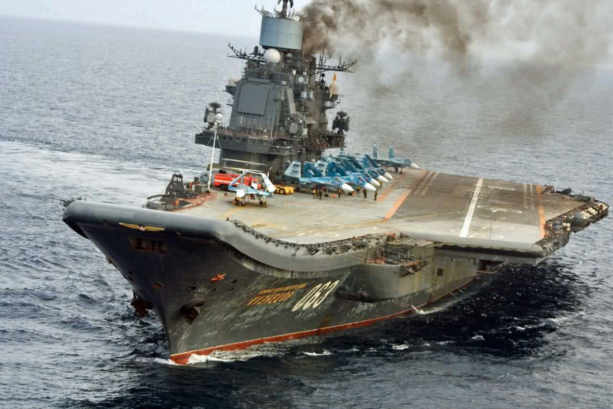 The Admiral Kuznetsov Aircraft Carrier - Mission And Goals (An Update)
