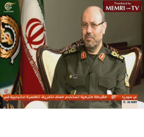 Iranian Defense Minister Hossein Dehghan: We Will Always Provide Arms To The Resistance Against The U.S. And Israel