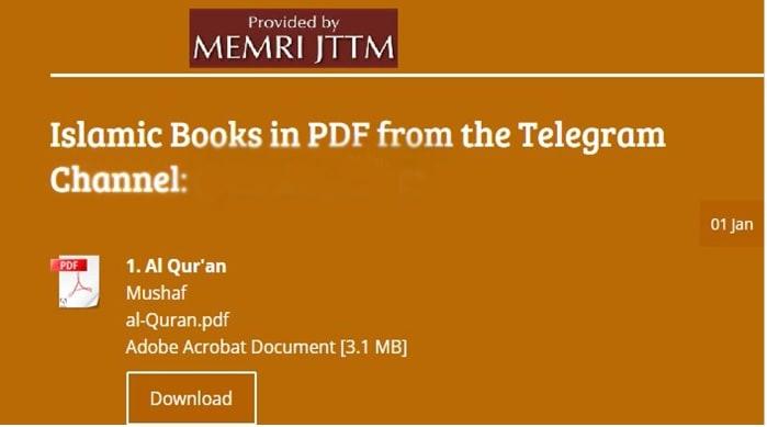 Jihad and Terrorism Threat Monitor (JTTM) Weekend Summary