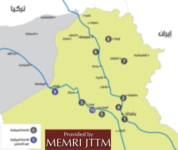 Jihad And Terrorism Threat Monitor JTTM Weekend Summary MEMRI - Map of iraq us military bases