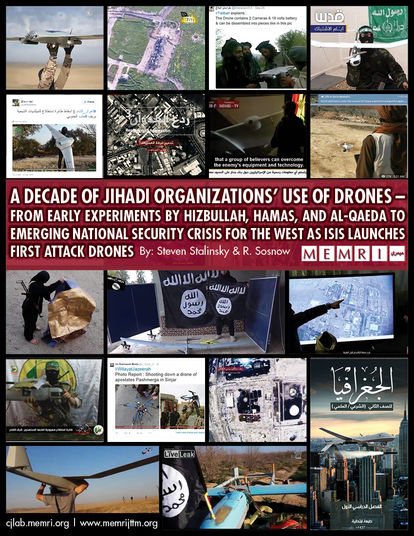 Jihadi Drones Isis Al Qaeda Hamas Hizbullah Others Middle East Loop Ramadhan Counter Strike Global Offensive From Early Experiments By And To Emerging National Security Crisis For The West As Launches First Attack