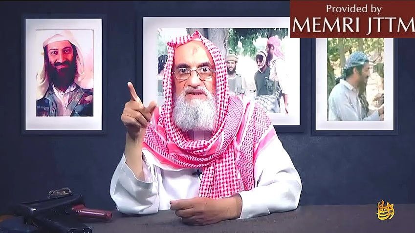 Al-Qaeda Releases Part Eight Of Video Series Featuring Al-‎Zawahiri Reminiscing About Bin Laden