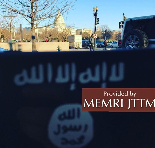 Islamic State Supporter On Instagram, Possibly Based In Washington D.C., Takes Photo Of ISIS Flag In Front Of U.S. Capitol