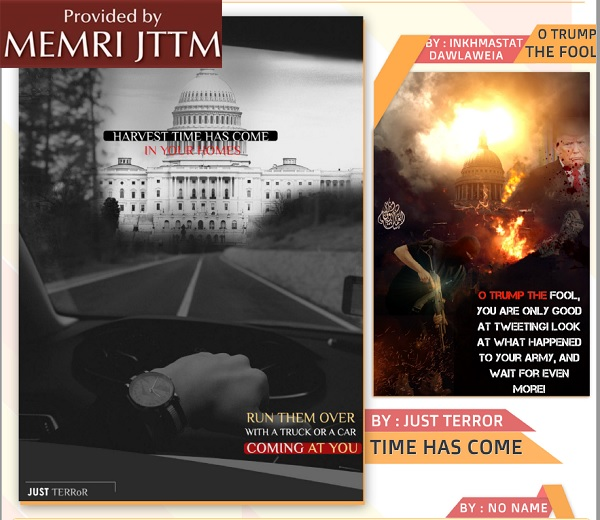 New Issue Of Pro-ISIS Magazine Republishes Posters Encouraging Jihadis To Carry Out Attacks In Washington, London, Paris, Rome, And Sydney