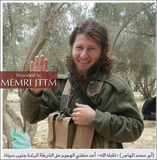 Pro-ISIS Media Foundation Eulogizes Fighter From The Caucasus Killed In Sinai