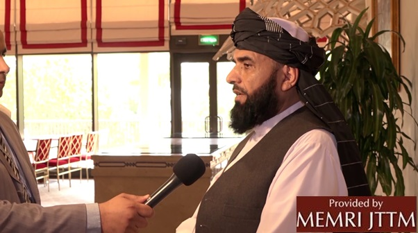 Afghan Taliban Spokesman: 'We Will Also Provide A Safe Passage To The U.S. And Other Foreign Forces'