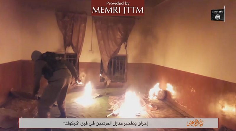 ISIS Video Boasts Of Attacks In Kirkuk Province, Group's Resilience