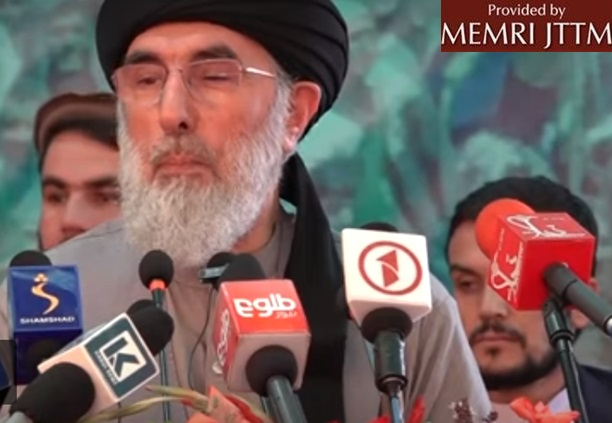 Former Warlord Gulbuddin Hekmatyar: Incumbent Afghan Government Will 'Collapse' When U.S. Forces Leave Afghanistan