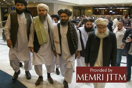 Media Reports: 11th Round Of U.S.-Taliban Talks Start In Qatar, No Flexibility In Taliban's Standpoints