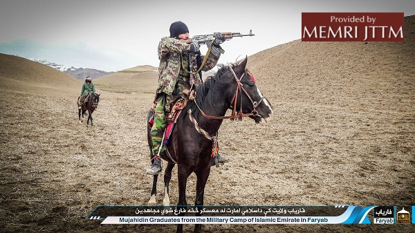 PHOTOS: Afghan Taliban Spokesman On Twitter Posts Photographs Of Militants Graduating In Faryab Province
