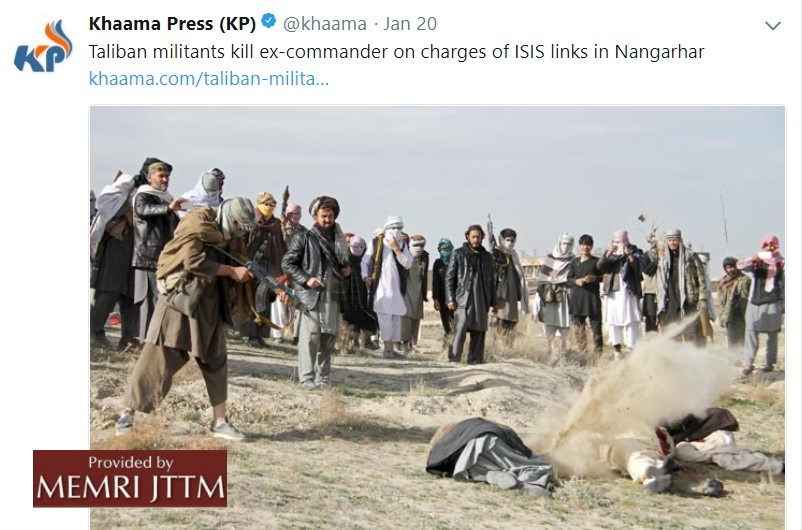 Tweets By Afghan Media Group Show Photos Of Jihadi Activity This Month In Afghanistan
