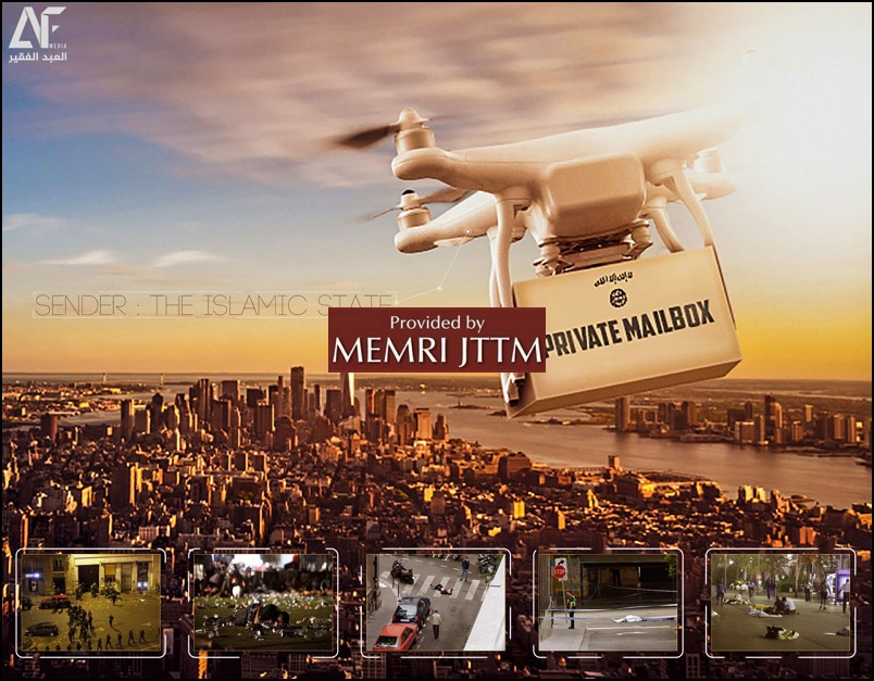 Pro-ISIS Media Outlet Threatens Use Of Weaponized Drones In West