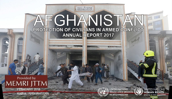 Afghan Taliban Criticizes UN Report That Blames Taliban For 42 Percent Of Civilian Casualties In 2017