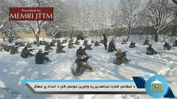 Photos On Twitter Show Afghan Taliban Training In Snow Conditions
