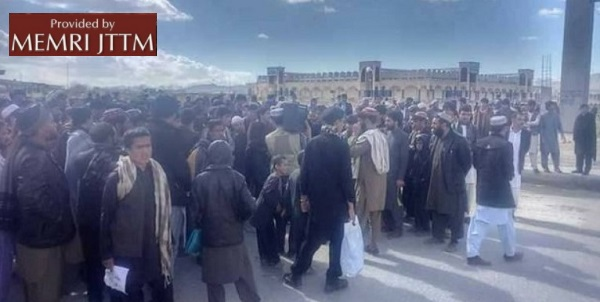 Taliban Website: Protests In Ghazni And Khost Province Against Killings Of Civilians