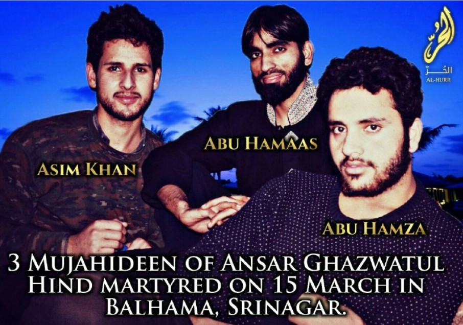 In Issue 2 Of Al-Nasr Bulletin On Telegram, Ansar Ghazwatul Hind Claims 'Martyrdom' Of Three Fighters in Indian Kashmir